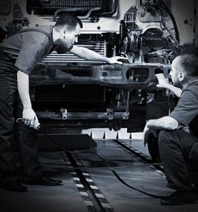 Technicians Check A Repair